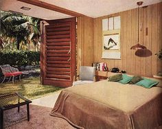 Vintage_Spaces_Bedroom #Retro #Midcentury #Interiors #Design