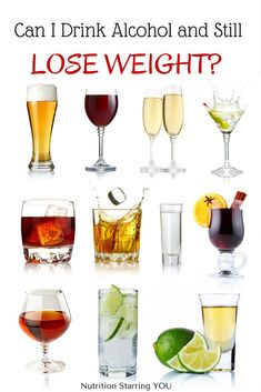 Which drinks have the fewest calories? Find out in: Can I Drink Alcohol and Still Lose Weight? @LaurenPincusRD