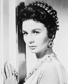 JEAN SIMMONS 8x10 B&W PHOTO Description: High Quality real photograph printed on Fuji Paper.. Size: 8x10 inches.  #MovieStore #Home