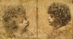Leonardo da Vinci-Study of a childs head #TuscanyAgriturismoGiratola