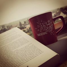 Book and coffee.... I am happy