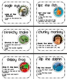 Posters for Decoding-  http://www.teacherspayteachers.com/Product/Stuck-on-a-Word-Reading-Strategies-Posters-and-Bookmarks