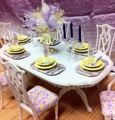 OOAK Barbie Dining Room 1 6 Scale Furniture House Dinnerware Accessories | eBay
