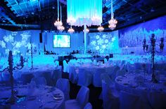 The whole idea come together. Welcome to our Winter Wonderland!