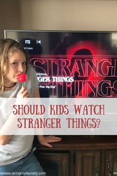 Stranger Things is an amazing show on Netflix. But should kids be watching?  #StrangerThings #Netflix #kids #parenting