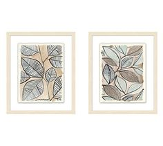 These abstracted botanical drawings have a lush, energetic feel. The subtle shading and bold line work present in the original art are faithfully rendered in these giclée reproductions. Frame Wall Decor, Diy Wall Art, Wall Art Decor, Pottery Barn Wall Art, Pottery Art, Botanical Wall Art, Botanical Drawings, Wall Accessories, Mirror Art