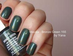 Mavala - 155 Bronze Green