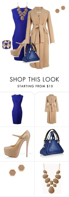 Getting it done by bsimon623 on Polyvore featuring Lanvin, Carven, Chloé, Gorjana and Forever 21