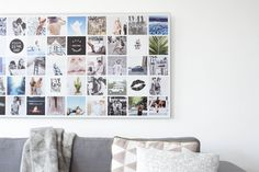 Instawall Panorama | Aluminium | Wit | Jouw eigen kunstwerk!