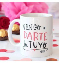 Taza Darte lo tuyo - #pedritaparker #taza #mug #regalo #divertido #amor