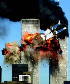 Hijacked United Airlines Flight 175 from Boston crashes into the south tower of the World Trade Center and explodes at a. on September 2001 in New York City. (Photo by Spencer Platt/Getty Images) never forget 911 Never Forget, Lest We Forget, Don't Forget, God Bless America, We Are The World, Change The World, 11 September 2001, April 21, Moslem