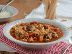 Spaghetti Ring and Meatball Soup | Kid-Friendly Pasta Recipes | Everywhere