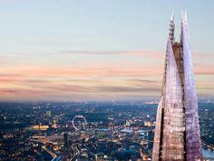 Shard observation deck in London
