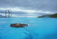 Landscape-photo printed on a weatherproof truck tarp sized 100 x 70 cm