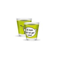 Schnapsglas »Nichts« von GRUSS & CO. Nur 2,50 €. http://sheepworld.de/shop/nach-Serien-Motive/Schnapsglaeser/Schnapsglas-Nichts.html