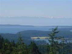 The view from a San Juan Islands dream home...