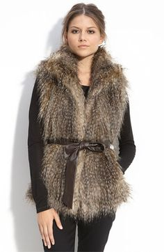 It may me look like the Yeti, but I will get a fur vest for this winter.