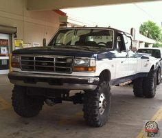 Ford Dually Trucks, Ford Pickup Trucks, Chevy Trucks, Lifted Trucks, Ford 4x4, Ford Diesel, Diesel Trucks, Cool Trucks, Big Trucks