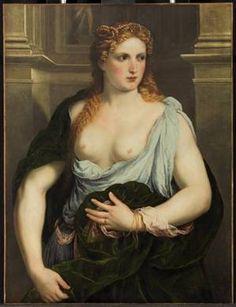 A Young Woman,  ca. 1550  (Paris Bordone) (1500-1571)   Kunsthistorisches Museum, Wien GG_18