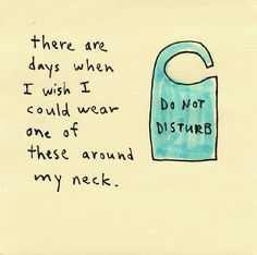 Do not disturb sticky note drawing - I'm so feeling this!  #ppgfunny