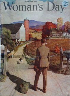 Woman's Day, November 1945 | The Vintage Traveler