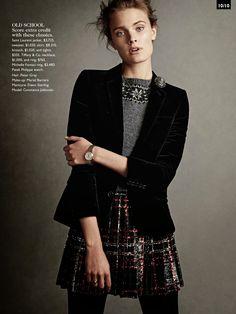State of Grace: Vogue Australia November 2014 Constance Jablonski by Christian MacDonald