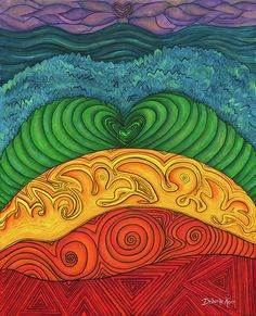 Chakra Ascension by Deborha Kerr -  how I see the energy patterns in our chakra centers.
