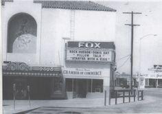 Fox Redondo Theater of Redondo Beach California circa 1950's