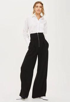Pedir  Topshop Pantalón de tela - black por 74,95 € (4/09/17) en Zalando.es, con gastos de envío gratuitos.