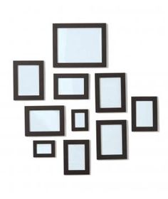 This set of 10 frames in various sizes makes creating a gallery wall a no-brainer. If you choose to separate the pack instead, consider hanging a trio in the hallway and placing the rest above your desk. Sizes range from 2-by-3-inches to 8-by-10-inches.