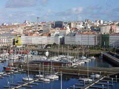 A Coruña, la ciudad de cristal | Wall Street International Magazine San Francisco Skyline, Paris Skyline, Sailing, Around The Worlds, Travel, Wall Street, Photos, Stone Driveway, Candle