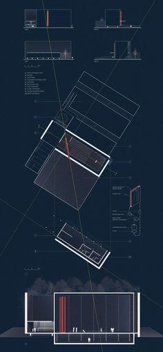 architecture studio I: eyes want to caress. by maitham almubarak, via Behance