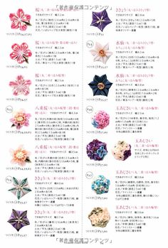 Chart of petal types (you may have to click where the image should be in order to make it appear) Ribbon Art, Diy Ribbon, Fabric Ribbon, Ribbon Crafts, Flower Crafts, Fabric Flowers, Diy Flowers, Felt Hair Accessories, Kanzashi Tutorial