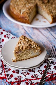 Pear Spiced Crumb Cake