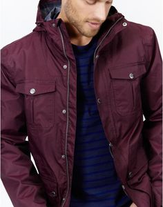 Men's Mt. Crescent Fleece-Lined Waterproof Jacket | Grey, Shops ...