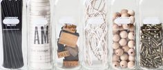 Баночки и бутылочки в декоре прованс #provence