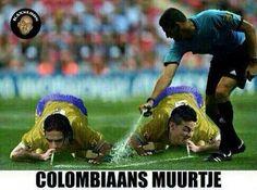 Colombiaans muurtje