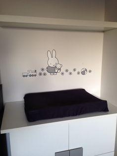 babykamers op babybytes: phoebe`s-nijntje-kamer | ideeen, Deco ideeën