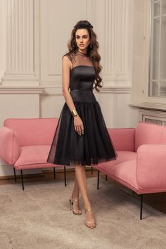 Rich in bright shades and a variety of silhouettes 'Allure' cocktail dresses collection brilliantly reflects all the latest trends in evening fashion. Beautiful Cocktail Dresses, Short Cocktail Dress, Beautiful Gowns, Evening Gowns With Sleeves, Long Evening Gowns, Nice Dresses, Prom Dresses, Formal Dresses, Spring Dresses