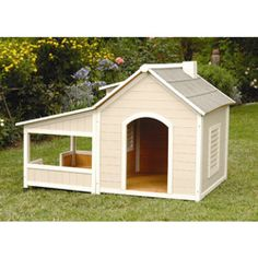 Outback Savannah Luxury Dog Home with Porch