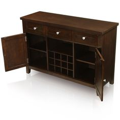 Furniture of America Havana Modern Espresso Dining Server   Overstock.com Shopping - The Best Deals on Buffets