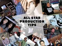 30 all-star production tips All Star, Songs, Motivation, Film, Music Production, Tech, Band, Movie, Tecnologia