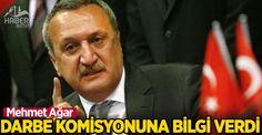 Mehmet Ağar darbe komisyonuna konuştu
