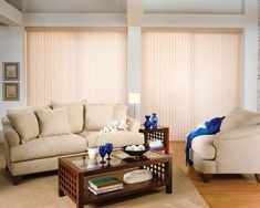 If you have large windows that need treatment, Vertical Blinds are tried and true. They're user-friendly and give you the light control and privacy you want! Our awesome team installs them in cities like Downey, California in Los Angeles County. Visit www.chiproducts.com to see the different types of installations we do, or call (866) 567-0400 and ask about our Vertical Blinds. :)