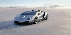 The Lamborghini Centenario Roadster