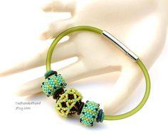 Beaded Bead Bracelet by Sharri Moroshok by TheBeadedBead on Etsy