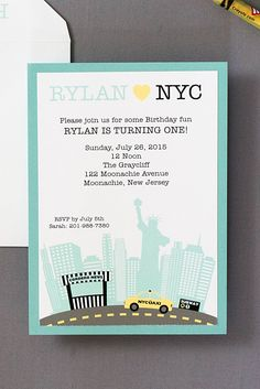 New York Themed Invite Ideas For Theme Pinterest Party Themes