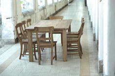 Teak Tisch Rustikal Bild 1