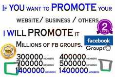 promote your Business or website over 10Millions Real and Acti... by yourshope