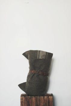 Orn Hansen reclaimed Italian Military wool blanket x 1924